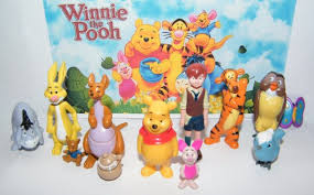 winnie the pooh disney winnie the pooh figure set of 12 with pooh christopher