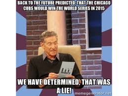 Bet Meme - more money bet on chicago cubs to win world series than any other