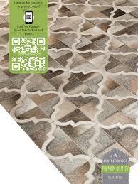 moroccan tile cowhide rug u2022 quatrefoil area rug u2022 moorish tile rug