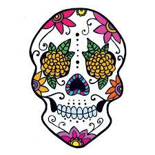 flora sugar skull temporary taintedtats