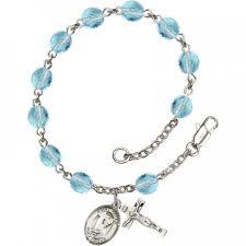 birthstone rosary patron birthstone rosary bracelet leaflet missal