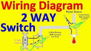 wiring diagram for light and switch ansis me