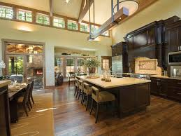 good incredible kitchen in new construction home with cherry wood