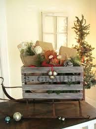a vintage crate sleigh hometalk