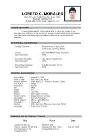 high school graduate resume brilliant ideas of resume high school graduate resume for high