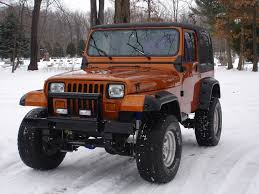 orange jeep wrangler lets see some orange and black jeeps jeepforum com