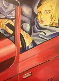 Tamara De Lempicka Art by Self Portrait Tamara De Lempicka