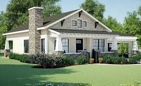 craftsman house plans one story plan 18267be simply simple one story bungalow craftsman ranch