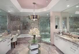 carrara marble bathroom ideas bathroom fancy modern bathrooms with marble wall and recessed