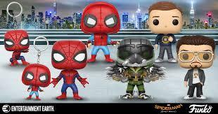 spider man homecoming pop figures swing in