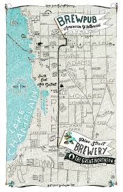 Portland Breweries Map by Pine Street Brewery Zero Gravity Craft Brewery