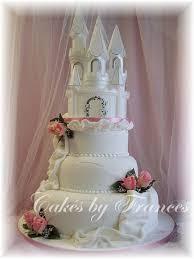 Wedding Cake Castle Elegant Wedding Cakes With Fountains Fantasy Castle Wedding