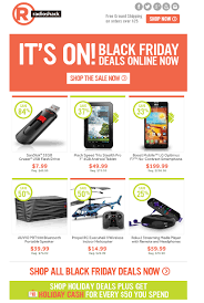 Radio Shack Thanksgiving Day Sales Email Marketing The Weekly Inbox Volume 10 Black Friday Edition