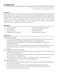 Call Center Job Resume by Call Center Operation Manager Resume Blownbrave Ga