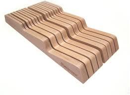 wusthof in drawer knife block walnut wusthof knife block 7pc