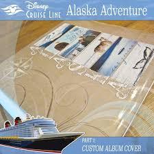 alaska photo album disney cruise custom album cover capturing magical memories