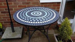 Mosaic Table L Make A Mosaic Tile Patio Table Choosing Mosaic Patio Table The