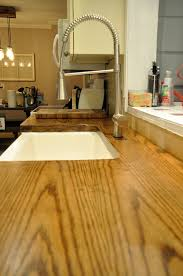 artisan des arts diy wood door butcher block countertops under