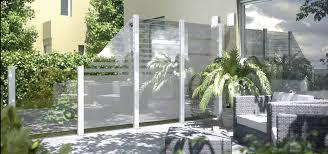 balkon sichtschutz aus glas garten sichtschutzzaun sichtschutz glas holzfachmarkt