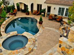 home decor beautiful balinese swimming pool idea cool round