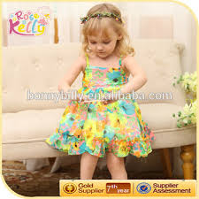 dress pattern 5 year old summer flower dresses for girl of 5 years old baby frock design