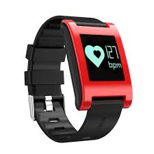 heart rate tracker bracelet images Dm68 oled large touch screen smart watch heart rate wristband jpg