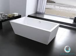 28 Inch Wide Bathtub 55 Inch Freestanding Tub 7502