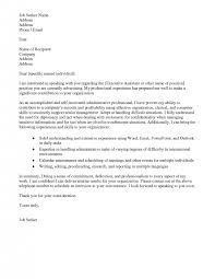 cover letter resume cover letter administrative assistant resume