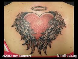 angel heart tattoo pictures to pin on pinterest tattooskid