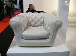 Inflatable Chesterfield Sofa by Reporting From Paris Blofield Inflatables Breathe Some Life Into