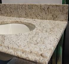 giallo ornamental granite vanity top low price from china