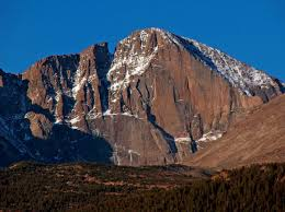 Rock Slides Will Remain Common Because Of The Significant Snowpack Longs Peak Wikipedia