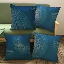 royal blue decorative pillows saved blue decorative ombre