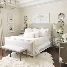 neutral easy master bedroom with restoration hardware bed white