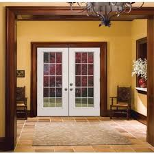 Interior White French Doors Stain Grade Trim Around White French Doors Google Search Shed