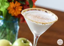 Hosting A Cocktail Party by Caramel Apple Pie Martini Inspired By Charm