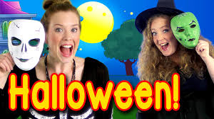 halloween peek a boo party kids halloween song youtube