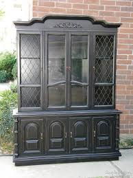 Black China Cabinet Hutch by 46 Best Painted China Hutch Images On Pinterest Painted