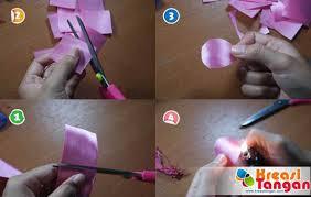 cara membuat bunga dari kertas pita jepang 3 cara membuat bunga dari pita mudah sai rumit gambar bunga