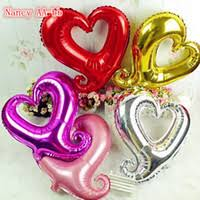Heart Shaped Items Helium Heart Shaped Balloons Price Comparison Buy Cheapest