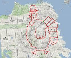 san francisco map my run che guevara you won t believe wha