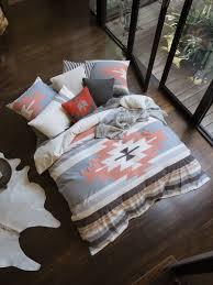 toluca quilt cover set orange double linen house quilt covers