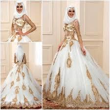 robe de mariã e indienne de luxe robe de mariage musulman 2017 chagne applique