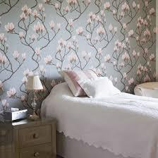 magnolia wallpaper traditional floral bedroom floral wallpaper