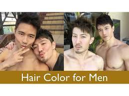 hair color for men youtube
