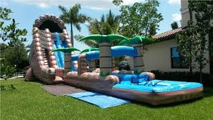 Best Backyard Water Slides Top Four Waterslides In South Florida