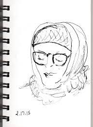 sketching with a fountain pen joana miranda studio