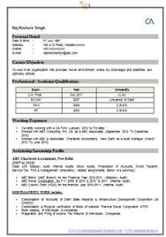 Example One Page Resume Awesome One Page Resume Sample For Freshers Career Pinterest