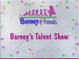 barney u0027s talent show barney u0026friends wiki fandom powered by wikia