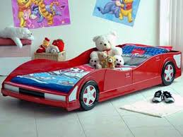 Car Bedroom Furniture Set by Bedroom Furniture Cool Design Ideas Of Boys Car Bed With Red Color